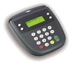EFTPOS machine pin-pad