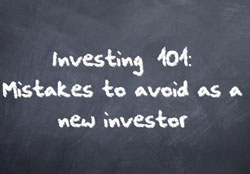 mistakes to avoid as new investor